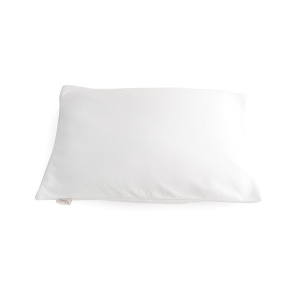 Bucky Duo Buckwheat and Millet White Fabric Travel Bed Pillow