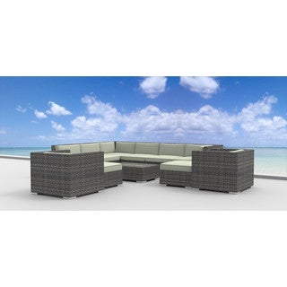 Urban Furnishing Aruba Wicker Outdoor Sofa Sectional (11-piece Set)