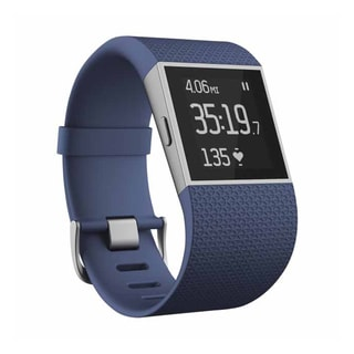 Fitbit Surge GPS Activity Tracking Watch, Large (Blue)