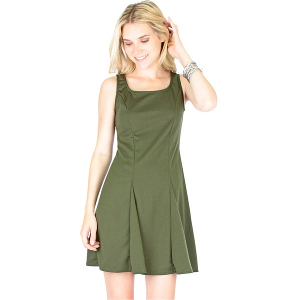Flare Grounds Skater Dress