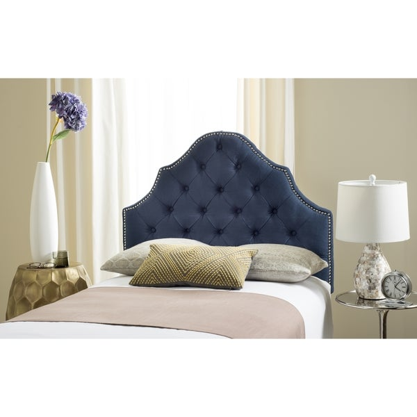Rhea Modern And Contemporary Twin Size Fabric Upholstered Headboard