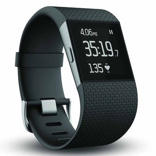 Fitbit Surge GPS Activity Tracking Watch, Xtra Large (Black)