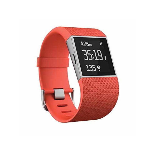 Fitbit Surge GPS Activity Tracking Watch, Large (Tangerine)