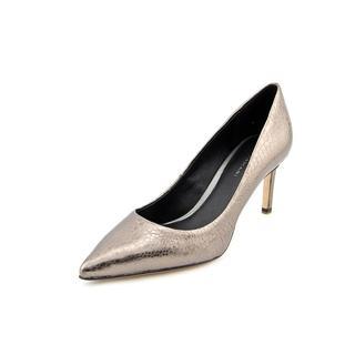 Elie Tahari Women's Destry Silver Leather Dress Shoes