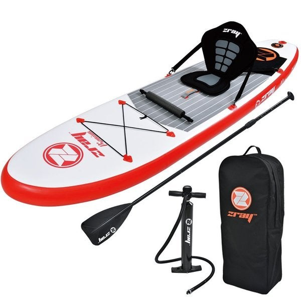 Zray 9-foot 10-inch One-person Inflatable Paddle Board with Pump, Paddle and Backpack