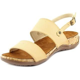 Bearpaw Women's Cindy Tan Faux-leather Sandals