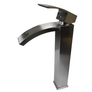 MTD Vanities Tuglea 8030 Brushed/Polished/Chrome/Nickel Solid Brass 12-inch Single Hole Single Handle Bathroom Faucet