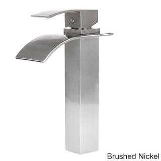Atlantis 10-inch Single-hole Lever-handle Vessel Bathroom Faucet