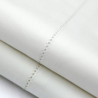 MALOUF Artisan Italian 400 Thread Count Cotton Percale Pillowcase