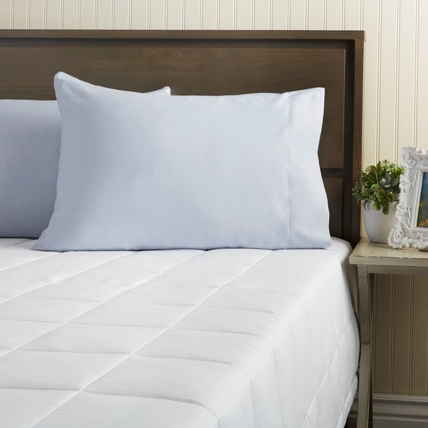 Oversized 300 Thread Count Luxury PrimaLoft Down Alternative Damask Lightweight Summer Blanket