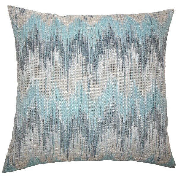 Fleta Ikat Throw Pillow Cover