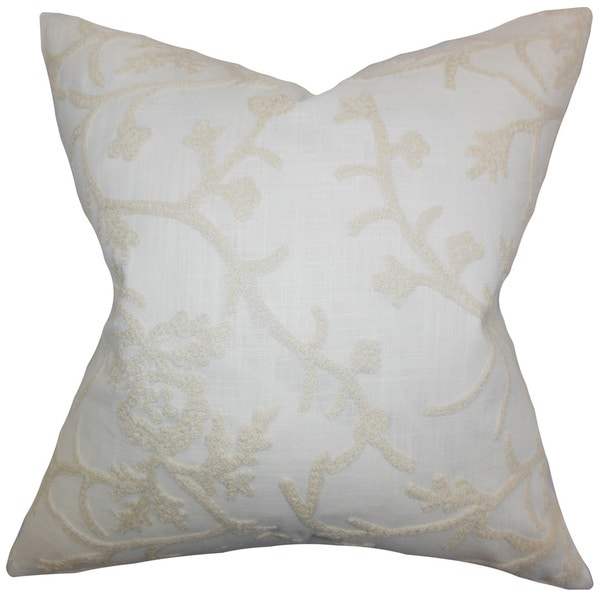 Marely Snowflakes Throw Pillow Cover