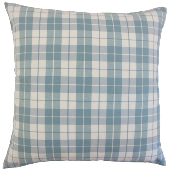 Joss Plaid Throw Pillow Cover