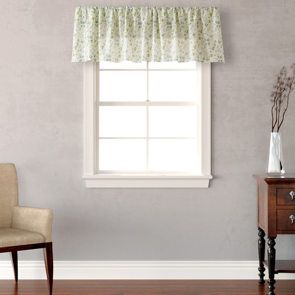 Laura Ashley Spring Bloom Cotton Valance 19224798