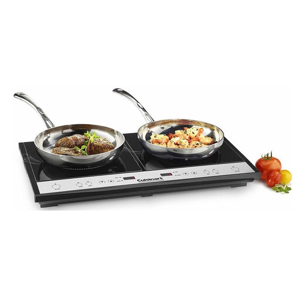 Cuisinart ICT-60 Black Double Induction Cooktop