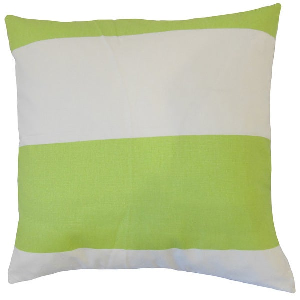 Yank Stripes Throw Pillow Cover