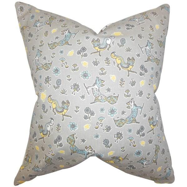 Laras Floral Throw Pillow Cover