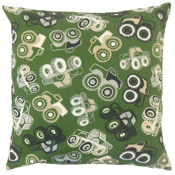 Marcellus Graphic Throw Pillow Cover Camo