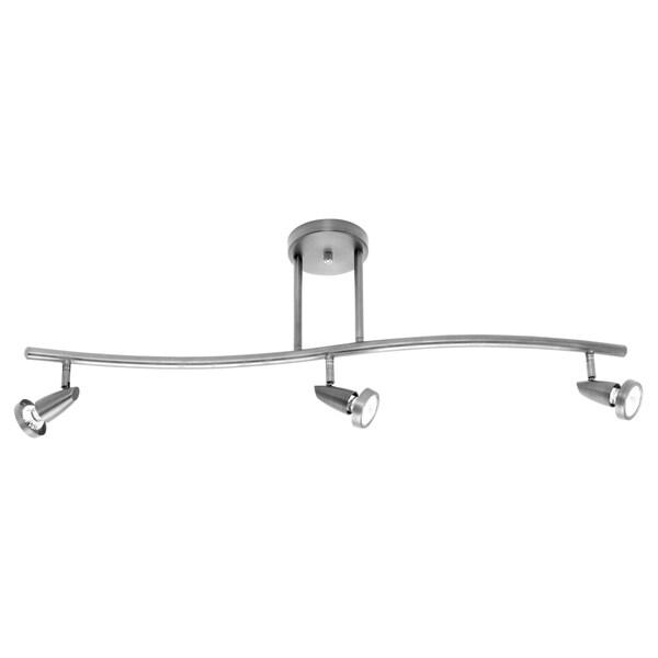 Access Lighting Mirage Steel 3 Light LED Spotlight Pendant
