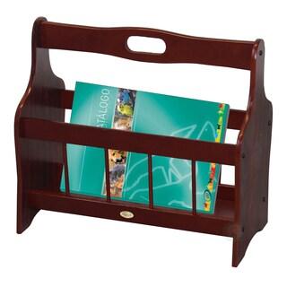 Uniqueware Wooden Magazine Rack