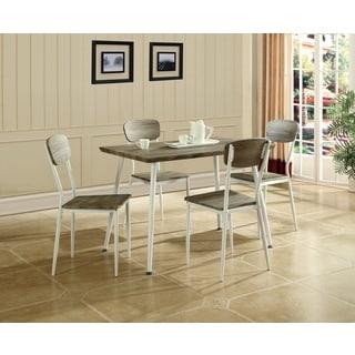Global Furniture Brown Wood Grain 5-piece Dining Set