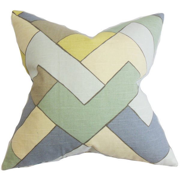Jeppe Geometric Throw Pillow Cover