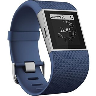 Fitbit Surge Blue Small Fitness Superwatch