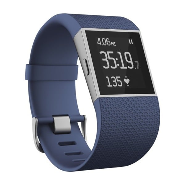Fitbit Surge Blue Fitness Superwatch