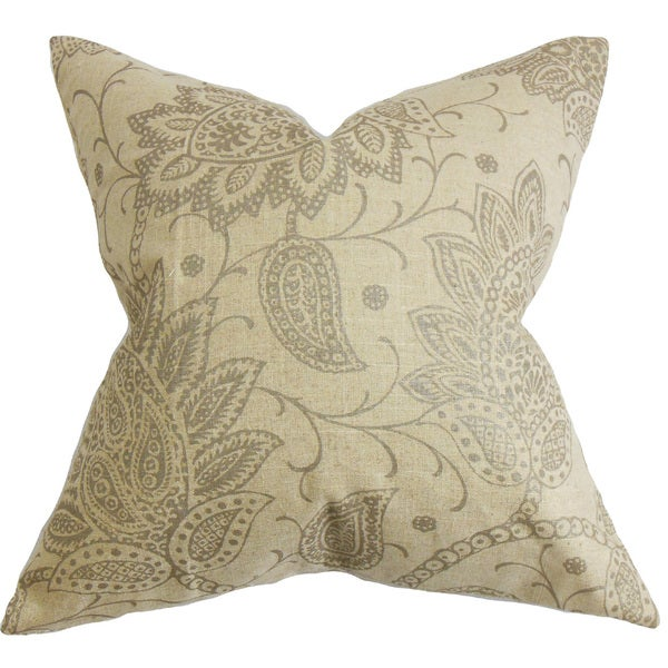 Eroica Floral Throw Pillow Cover