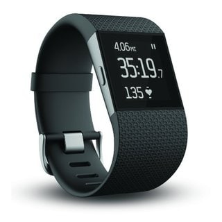 Fitbit Surge Black Fitness Superwatch