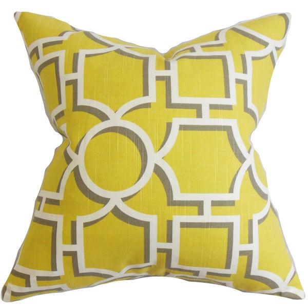 Ono Geometric Throw Pillow Cover