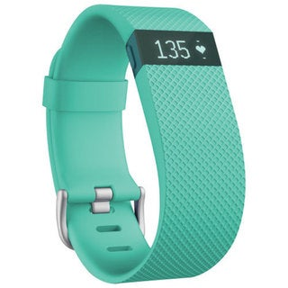 Fitbit Charge HR Teal Large Wireless Activity Wristband