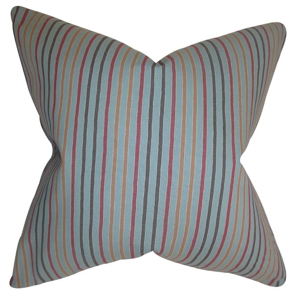 len Stripes Throw Pillow Cover