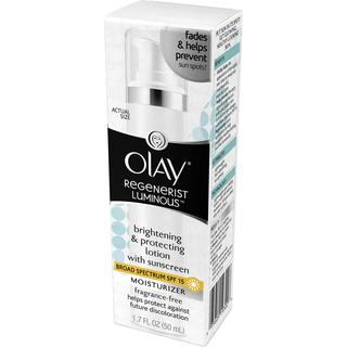 Olay Regenerist 1.7-ounce Luminous Brightening and Protecting Lotion with SPF 15
