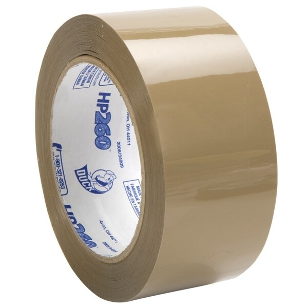Duck Brand HP260 Clear Acrylic 1.88-inch x 60-yard 3.1-millimeter High Performance Packaging Tape (Pack of 8)