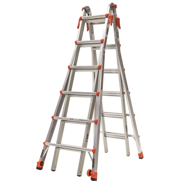 Little Giant Velocity Model 26 Aluminum Type 1A 300-pound Rated Multi-use Ladder