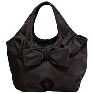 Kate Spade Nylon Large Tate Black Tote Bag
