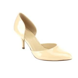 Beston IA82 Women's Classic D'orday Slip-on Mid-heel Dress Pumps
