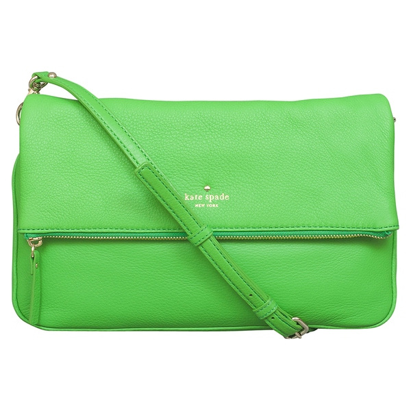 Kate Spade Cobble Hill Clarke Shamrock Green Crossbody Handbag