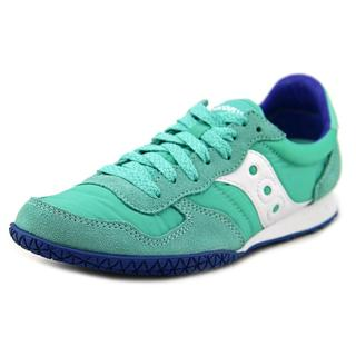 Saucony Women's Bullet Green Suede Regular Athletic Shoes