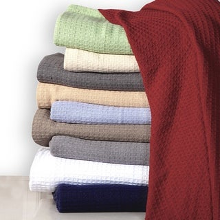 Affinity Home Collection Woven Cotton Throw Blanket