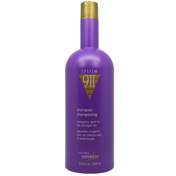 Hayashi System 911 Emergency Repair 33.8-ounce Shampoo for Damaged Hair