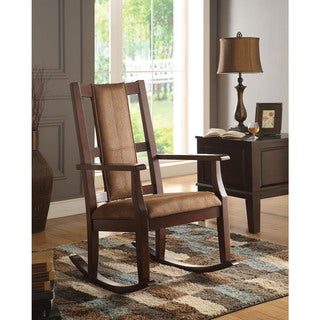 Copper Grove Sanvitalia Espresso Brown Rocking Chair