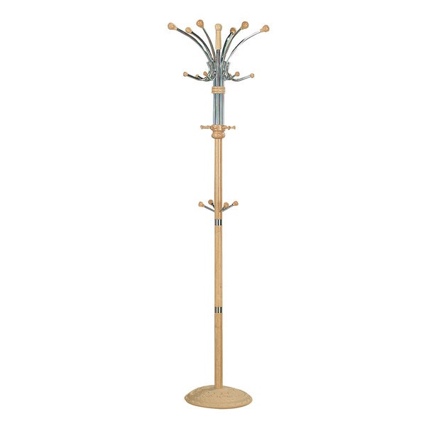 Hubert Natural Coat Rack