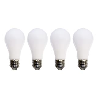 Meilo 60-watt Equivalent Soft White A19 Shatter-resistant LED Light Bulbs (Pack of 4)