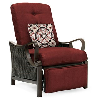 Hanover Outdoor VENTURAREC-RED Ventura Crimson Red Luxury Recliner