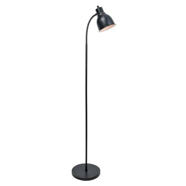 Galvin Black Metal Floor Lamp