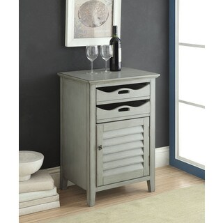 Holland Antique Grey Wine Cabinet