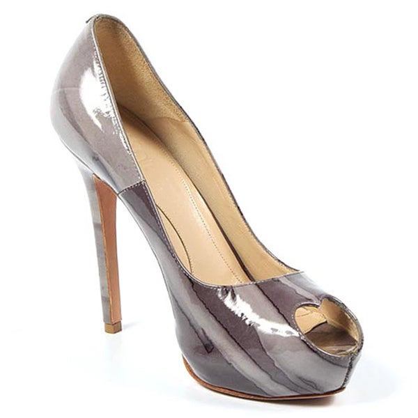 Alexander McQueen Decollete Open Toe Pumps