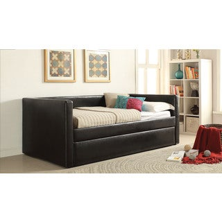 Aelbourne Black Daybed and Trundle